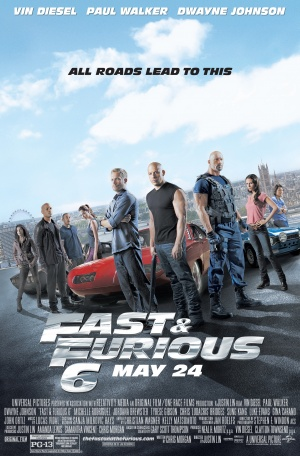 fast 6 poster