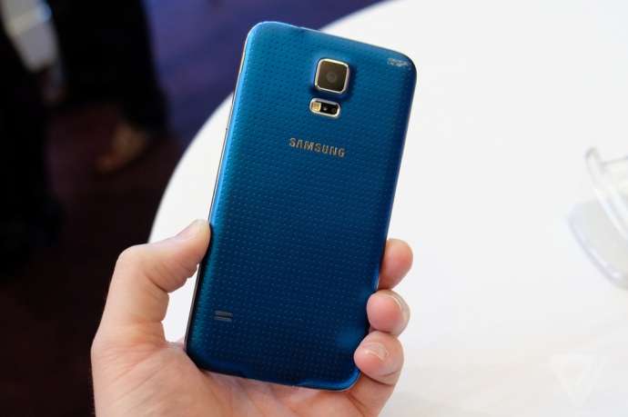 Galaxy S5 from The Verge