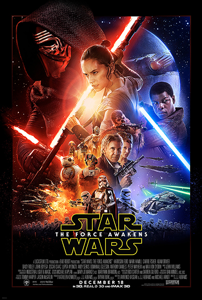 Star Wars EP 7 poster